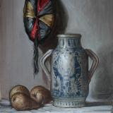Tuscan Vase and Indian Cap