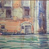 Along the Grand Canal; 25x35cm